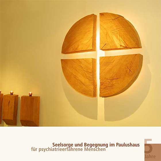 Broschüre: Print-Projekt · Seelsorge und Begegnung im Paulushaus · Seite 1