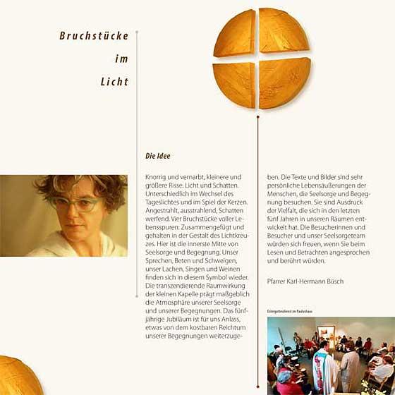 Broschüre: Print-Projekt · Seelsorge und Begegnung im Paulushaus · Seite 2