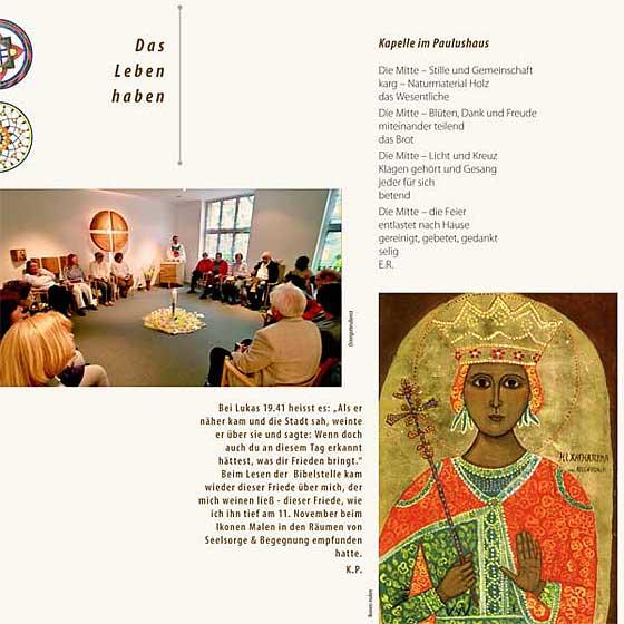 Broschüre: Print-Projekt · Seelsorge und Begegnung im Paulushaus · Seite 9