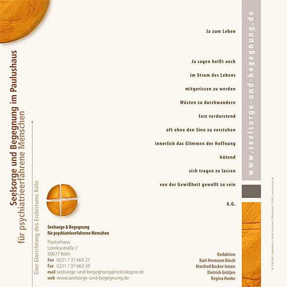 Broschüre: Print-Projekt · Seelsorge und Begegnung im Paulushaus · Seite 10