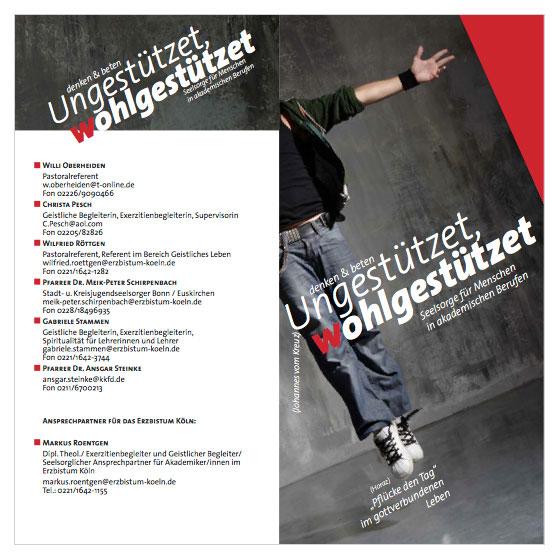 Seelsorge für Menschen in akademischen Berufen im Erzbistum Köln | Flyer