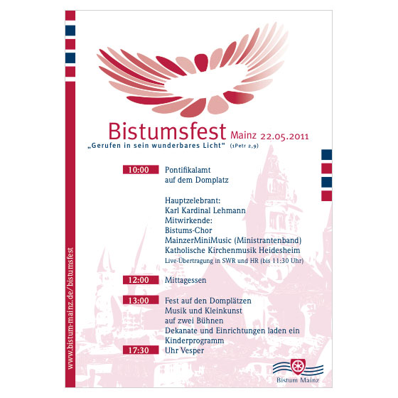 Bistumsfest Mainz | Plakat