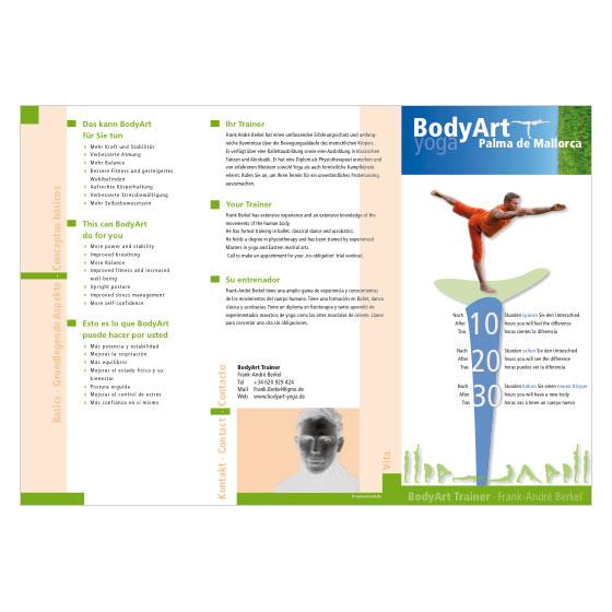 BodyArt Yoga | Palma de Mallorca | Flyer