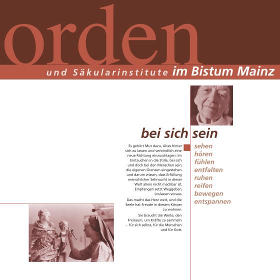 Orden und Säkularinstitute im Bistum Mainz