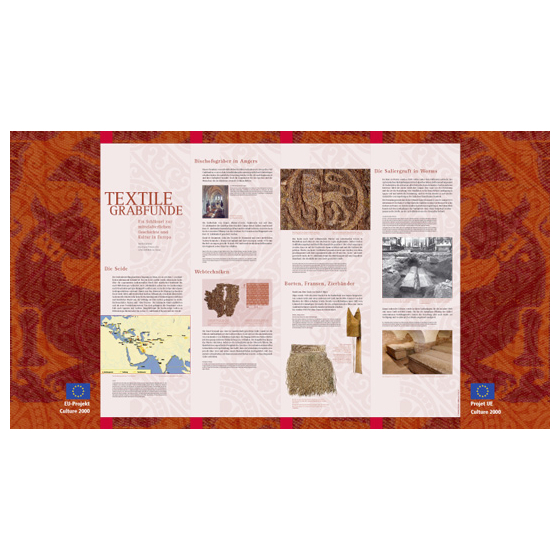 Ausstellung Textile Grabfunde · EU-Projekt Culture 2000