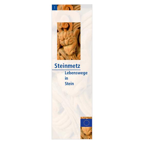 Flyer »Lebenswege in Stein«