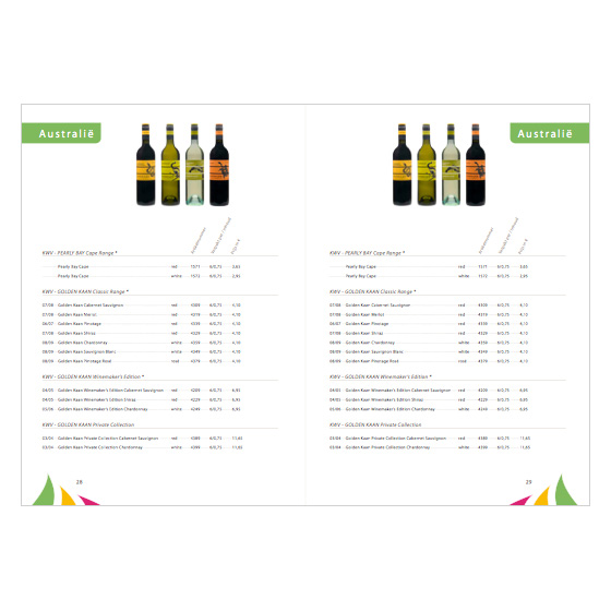 Katalog finedrinks b.v.