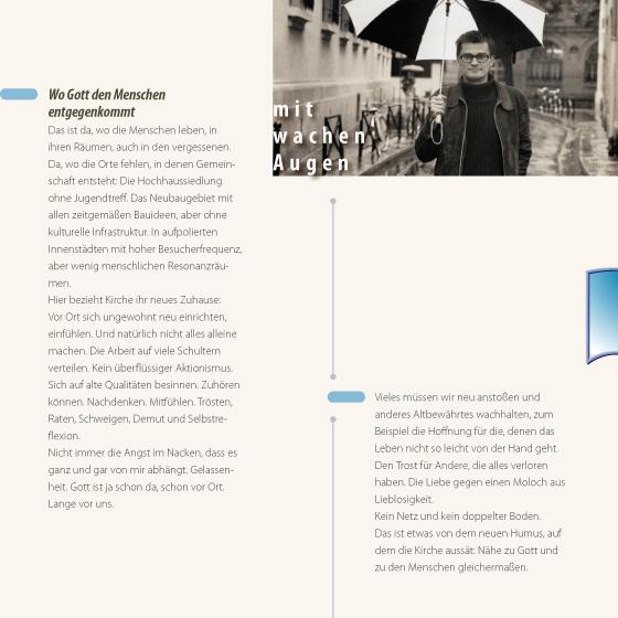 Broschüre: Lebensraum·orientierte Seelsorge in Mainz