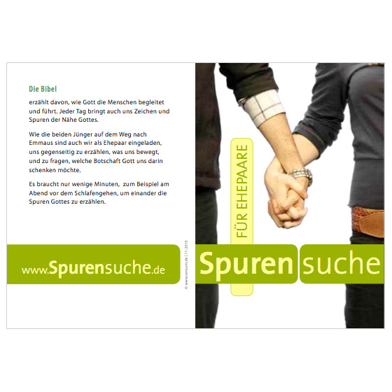 Flyer Ehepaare · Spurensuche · Mainz