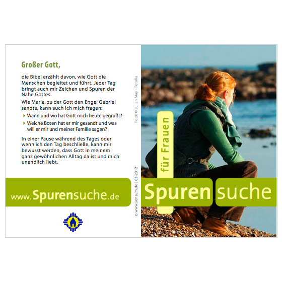 Flyer Frauen · Spurensuche · Mainz