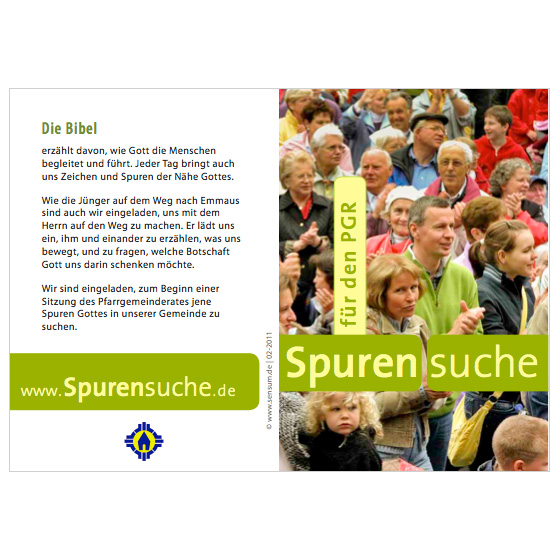 Flyer PGR · Spurensuche · Mainz