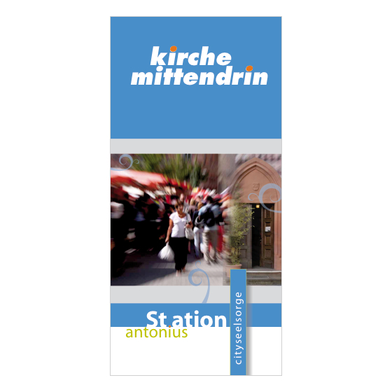 Station Antonius | Cityseelsorge Mainz | Flyer