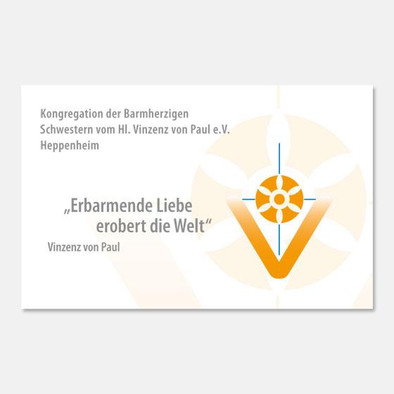Visitenkarte: Vinzentinerinnen · Heppenheim
