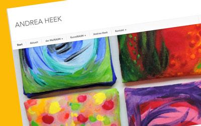 Andrea Heek · Künstlerin